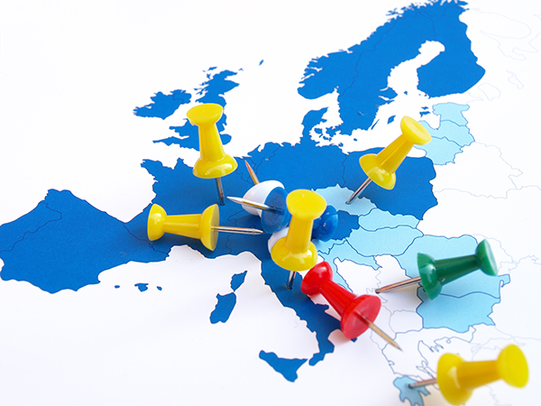 Which Parts of Europe Provide and Use the Most Furniture Subcontracting Resources?